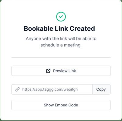 Bookable-link