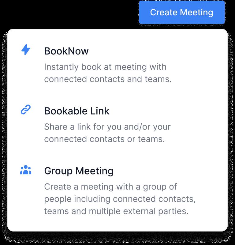 Create-Meeting-Menu